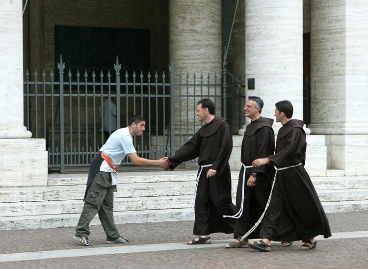 Служение францисканцев в России